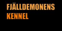 Fjälldemonens kennel Logotyp